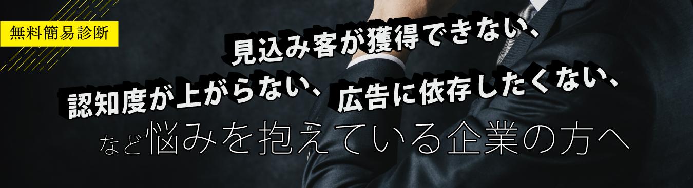 【無料】会社・商品・サービスの簡易診断お申し込み
